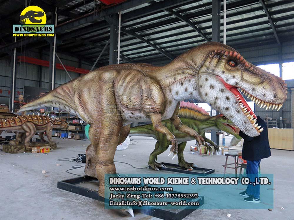 DWD023-7 Animatronic Dinosaurs Young Tyrannosaurs Rex2