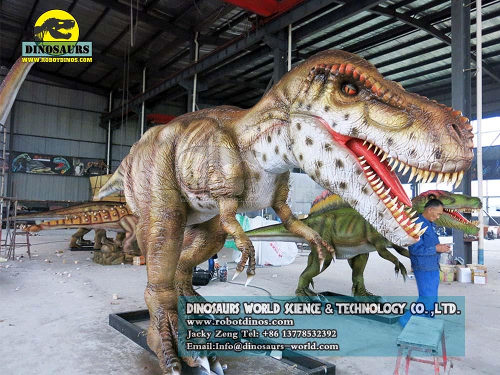 DWD023-7 Animatronic Dinosaurs Young Tyrannosaurs Rex3