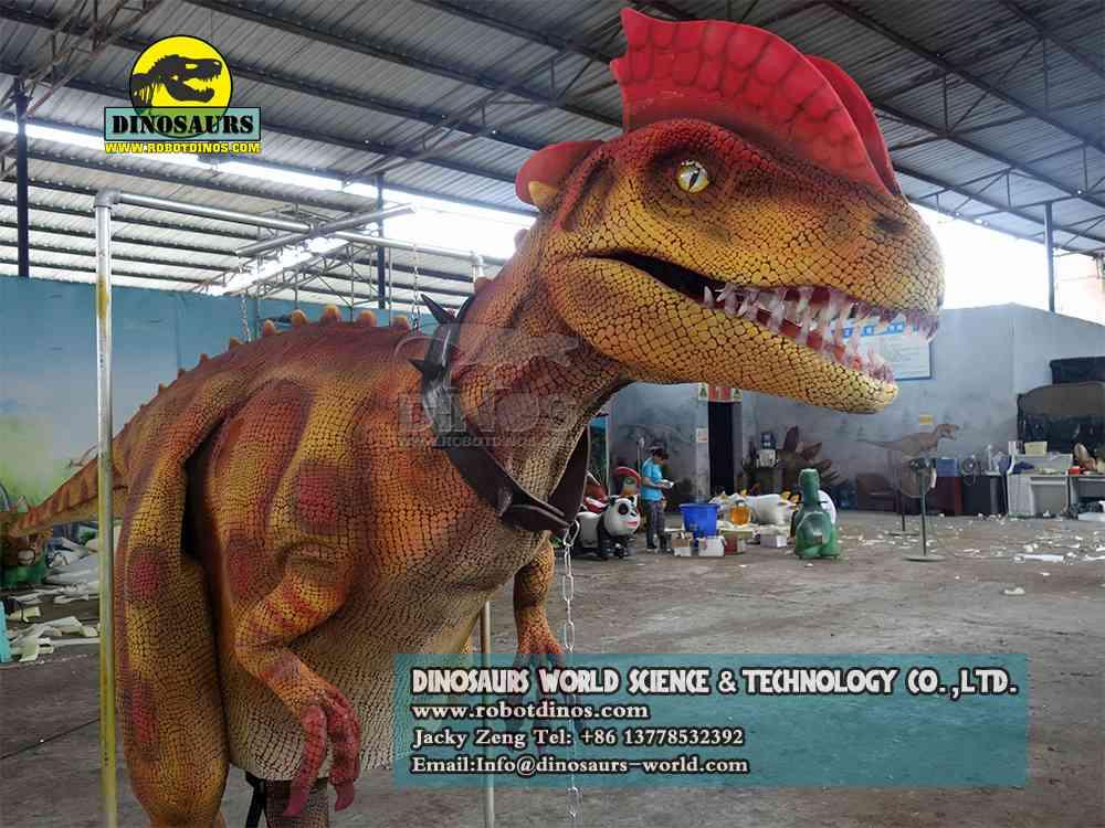 Realistic Dinosaur Costume Dilophosaurus DWE3324-34