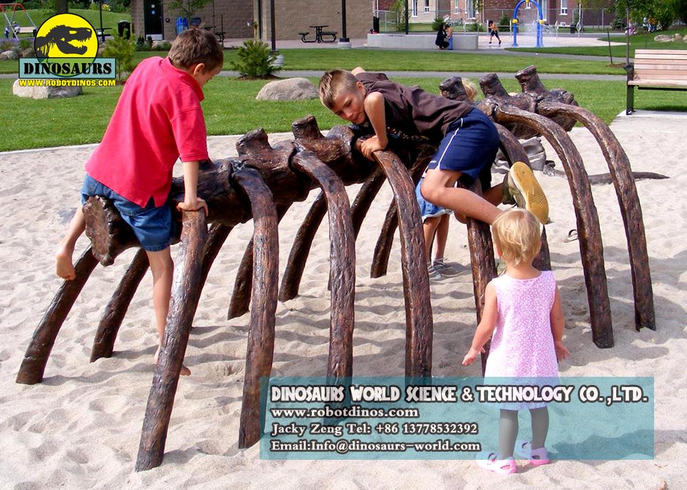 DWK011-Kids-Climbing-Model-dinosauri-backbone