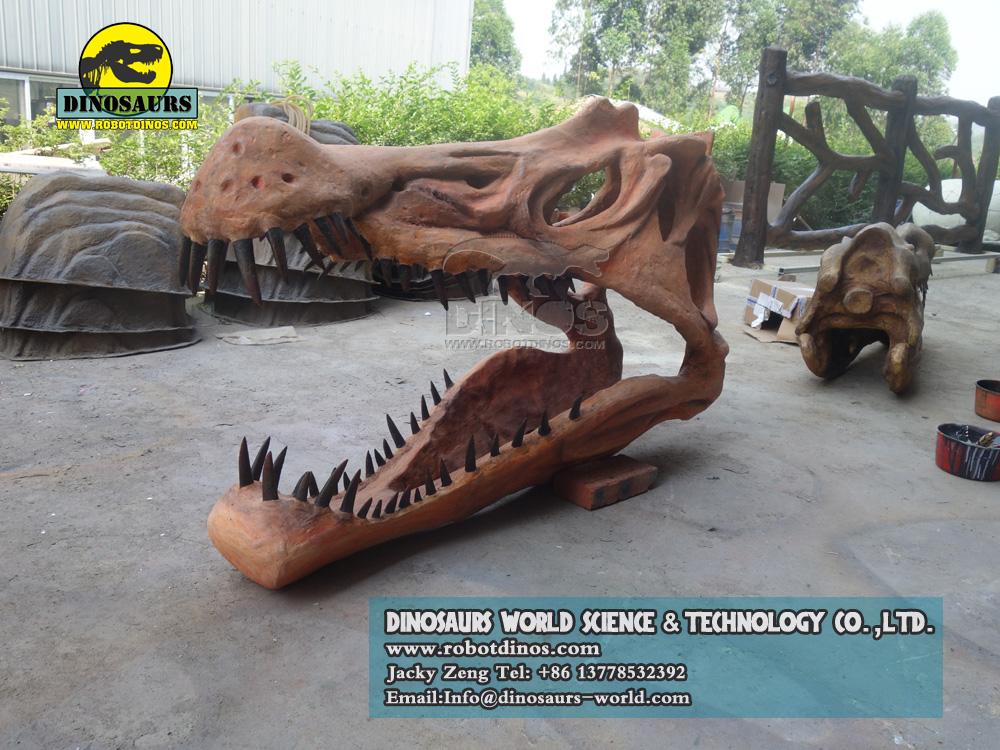 DWF3294 Dinosaur Spinosaurus Skull Replica