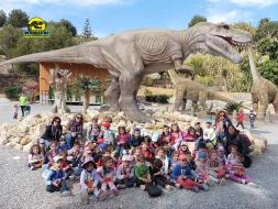 DWD1340 Dinosaur Park Animatronic Dino With Long Neck