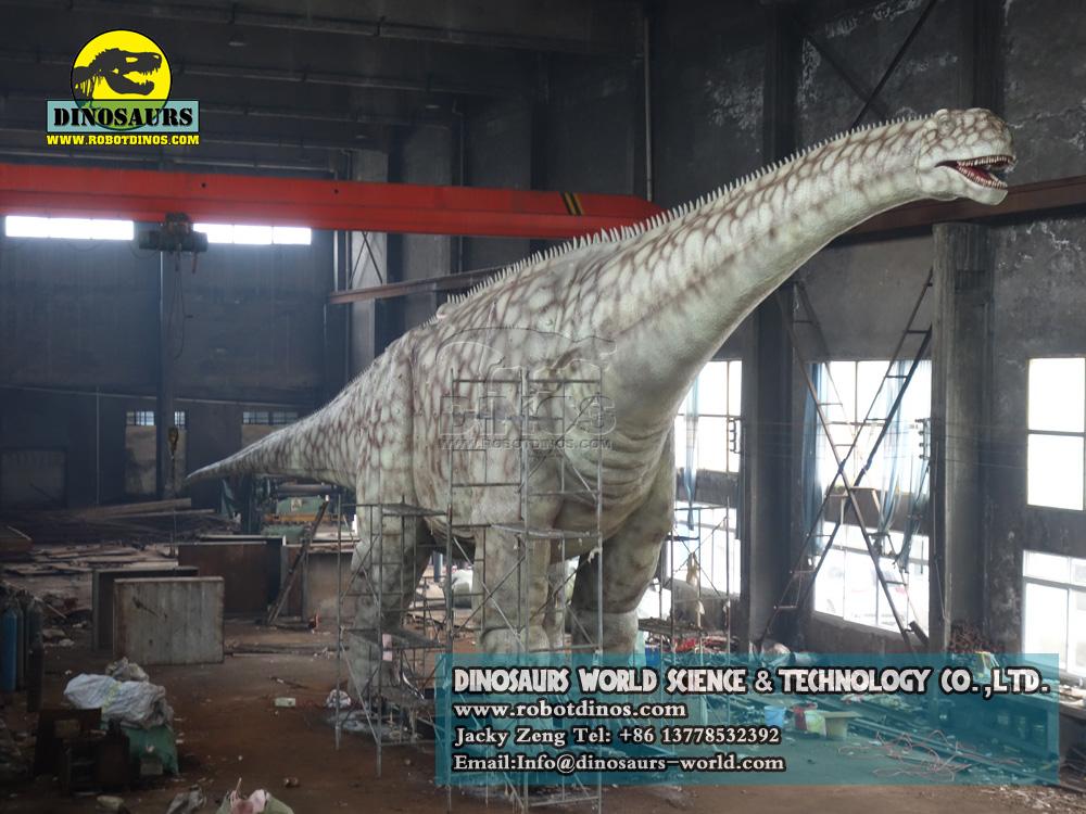 Jurassic park attraction huge dinosaur Argentinosaurus
