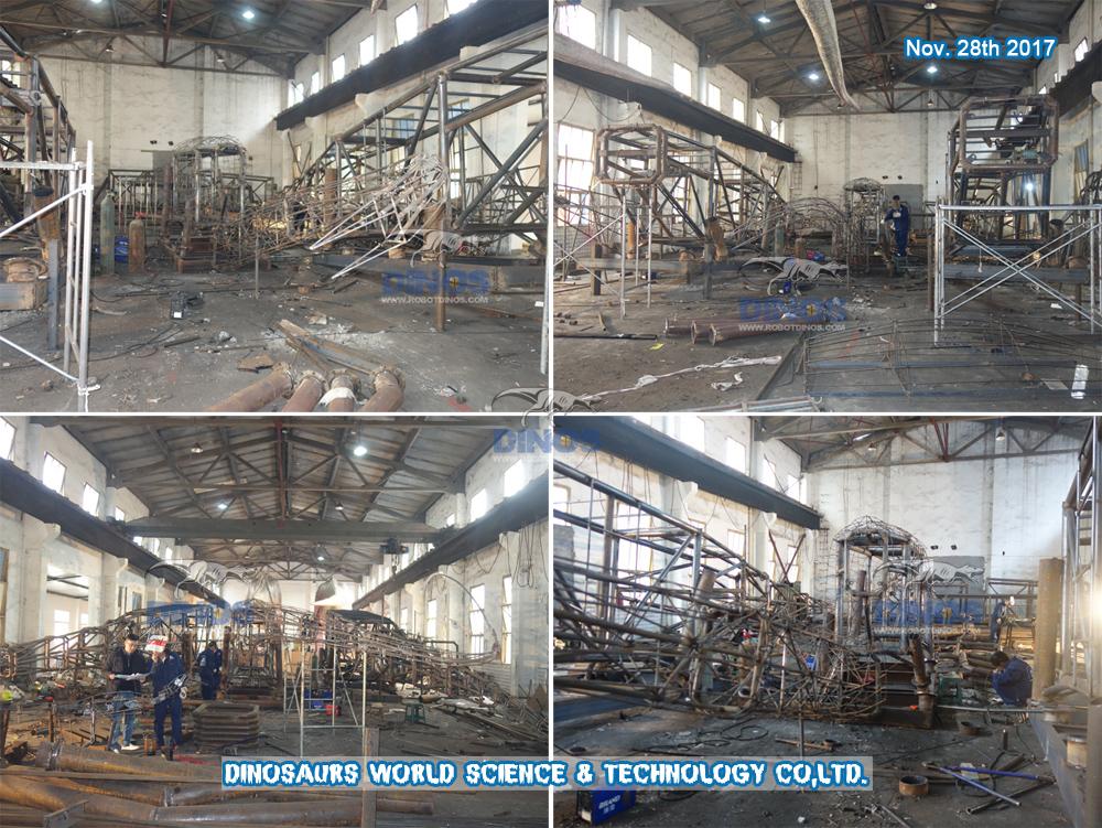 DWD1329-11 Postupak izrade velikog diplodoka u tvornici 27. studenog 2017