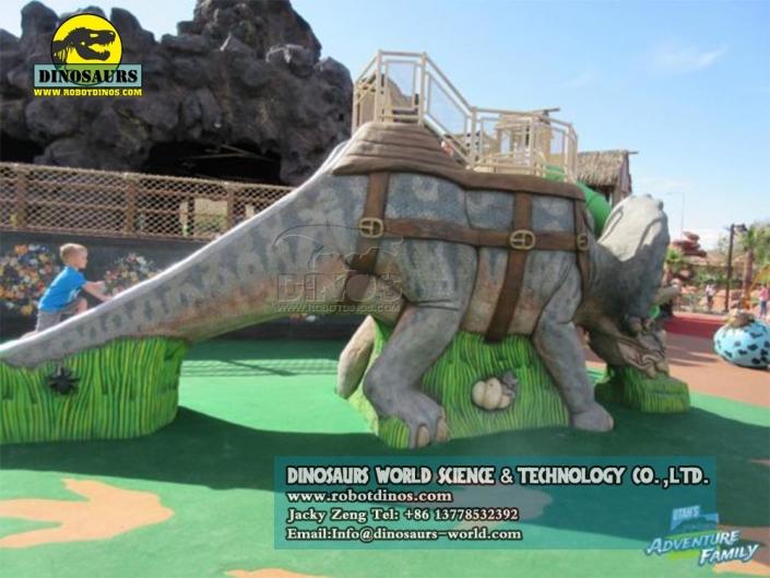 DWE034 динозавр слайд