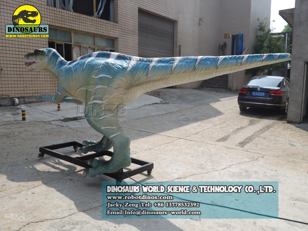 Simulated Realistic Animatronic Dinosaur  Herrerasaurus